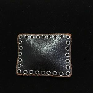 Leather Belt Buckle.
